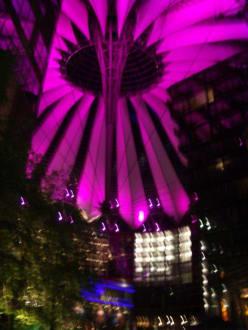 Abendstimmung im Sonycenter - Sony Center