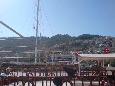 Hafen von Alanya - Bootstour Karaburun
