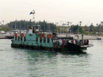 Fähre - Suezkanal