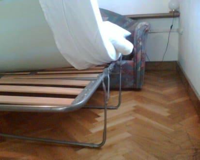 ausziehcouch im einbettzimmer bild gutshof gotschmar in diex k rnten sterreich. Black Bedroom Furniture Sets. Home Design Ideas
