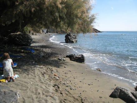 lohnenswertes Ausflugsziel an der Südküste Kretas - Strand Lentas