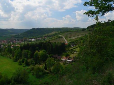 Blick auf Ochsenbach - Zabergäus und Stromberg-Heuchelberg