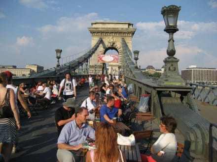 Sommer auf der Kettenbrücke (Juli - August) - Kettenbrücke