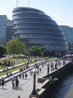 Außenansicht - City Hall - Rathaus von London