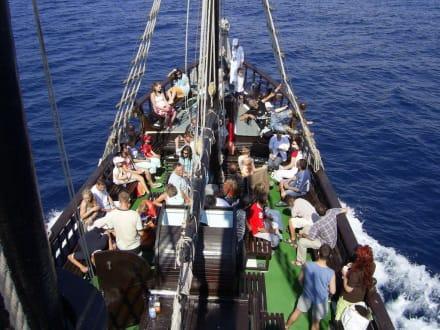Auf dem Piratenschiff - Piratenschifffahrt Hammamet-Yasmine