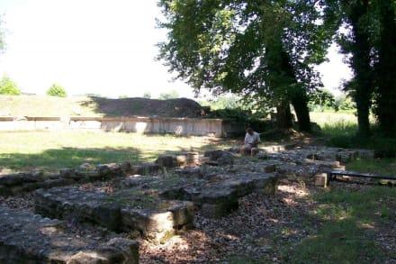 Díon- das römische Theater - Ausgrabung Dion