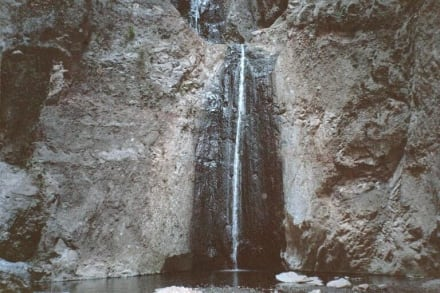 Barranco de Infierno (Teufelsschlucht ) - bei Adeje - Wasserfälle - Barranco del Infierno