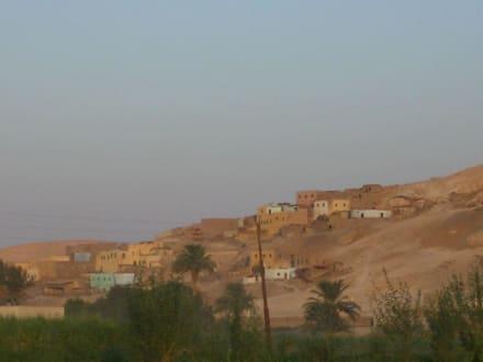el Qurna - Ballonfahrt Luxor