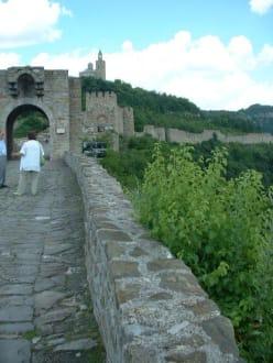 Die Buganlage Zarewitsch in Veliko Tarnovo - Burganlage Zarewitsch