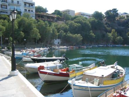 Malerischer Hafen von Chania - Hafen Agios Nikolaos