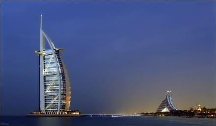 Jumeirah Beach Hotel & Burj al Arab - Burj Al Arab