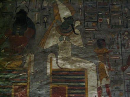 Grab - Ramses der 1 - Tal der Könige