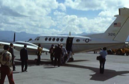 Hoher Besuch aus den Vereinigten Staaten - Flughafen Tegucigalpa (TGU)