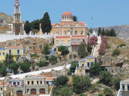 Blick auf Symi - Kirche Symi