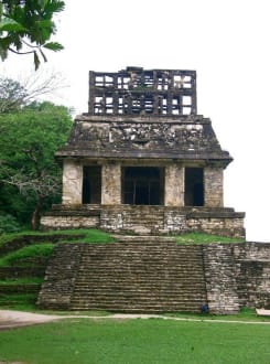 Sonnentempel - Maya Pyramiden Palenque