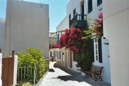 Nissyros, Mandraki - Altstadt Mandraki