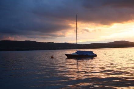 Sonnenuntergang am Attersee - Attersee
