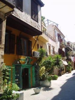 Gasse in der Altstadt - Altstadt Chania