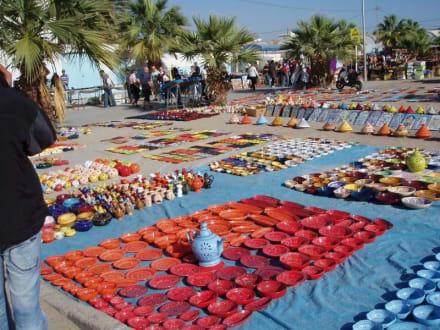 Keramik - Markt in Nabeul - Markt