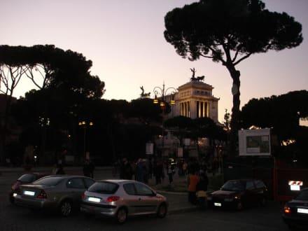 Abendstimmung in Rom - Bahnhof Termini