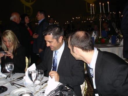 Salvador Elena und Hakan Öktem von HC - HolidayCheck Award Gala