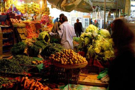 Obst und Gemüsemarkt in Dahar - Zentrum Hurghada