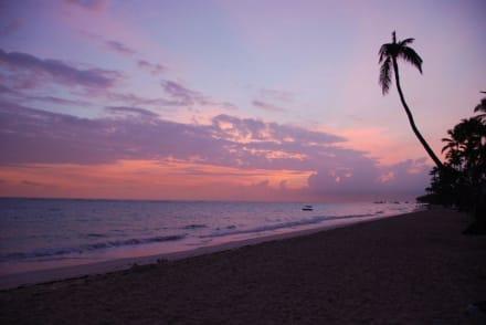 Sonnenaufgang - Strand Punta Cana