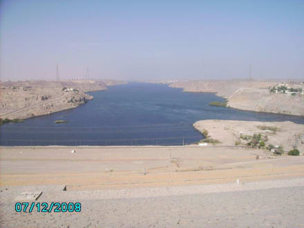 Staudam Nasser See - Assuan Staudamm