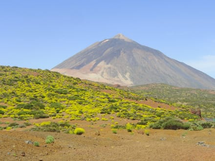 Montaña/monte/volcán - Parque Nacional del Teide