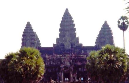 Angkor Wat am frühen Morgen - Tempel Angkor Wat