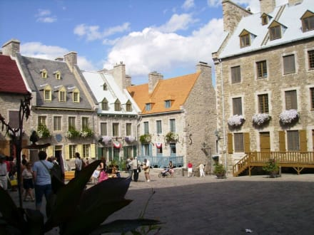 die Altstadt Quebecs - Place Royale