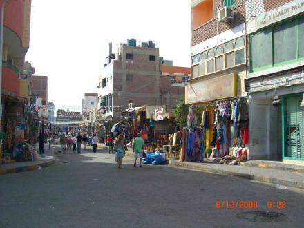 Bazar Viertel in Downtown - Zentrum Hurghada