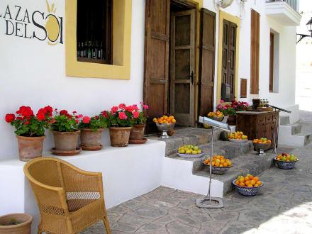 Restaurant im inneren der Festung - Altstadt Dalt Vila Ibiza