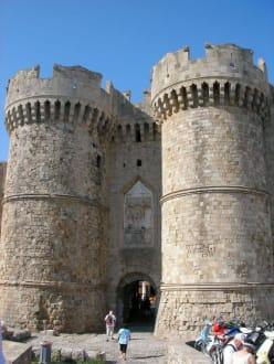 Eingang zur Altstadt - Meeres Tor / Thalassini Tor