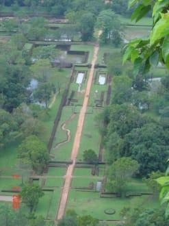 Blick vom Sigiriya - Sigiriya Felsen