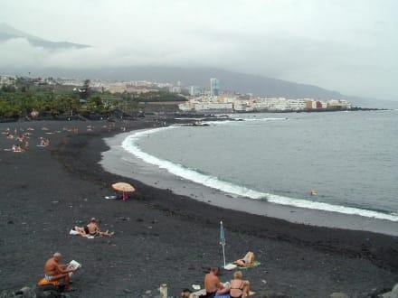 Strand in Puerto - Playa Jardín