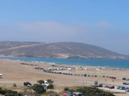 das Surferparadies Prasonissi - Strand Prasonissi