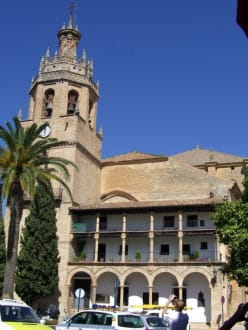 Iglesia Santa Maria la Mayor - Altstadt Ronda