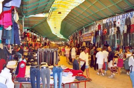 Markthalle in Manavgat - Markt