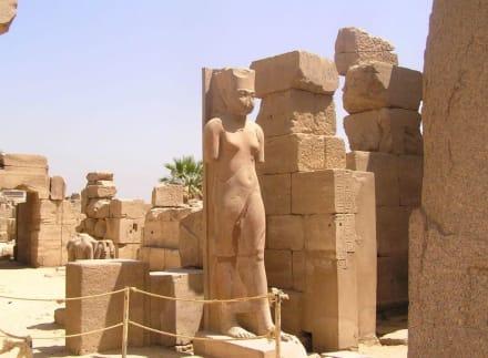 Statue des Tutanchamun - Amonstempel Karnak