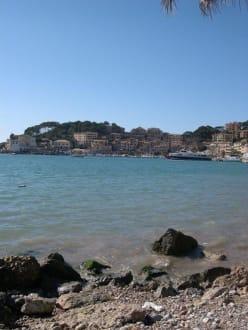 Der Hafen von Soller - Hafen Puerto de Soller/Port de Soller