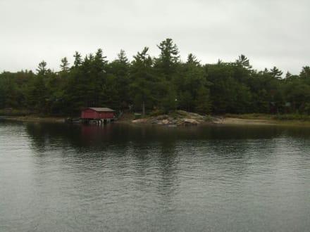 Muß ein Traum sein, da sein Ferienhaus zu haben - Georgian Bay Islands Nationalpark