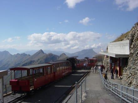 Bergstation Brienzerrothorn - Brienzerrothornbahn