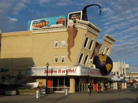 Ripley's Believe It or Not! Museum - Ausstellung Ripley's Believe It or Not! Atlantic City
