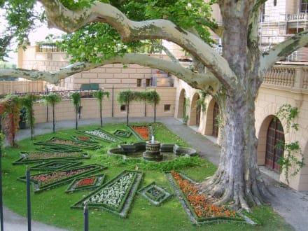 Es grünt so grün am Schloss - Bundesgartenschau Buga