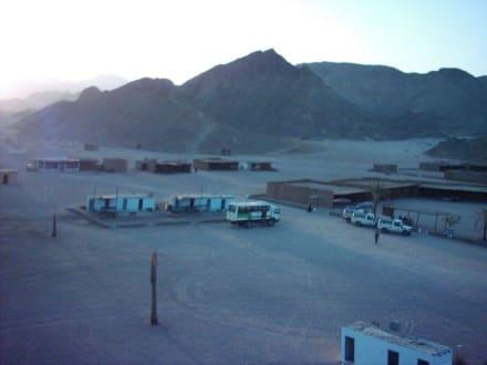 Das Nomadendorf in der Wüste - Wüste
