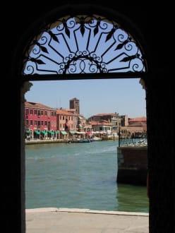 Glasinsel Murano bei Venedig - Insel Murano
