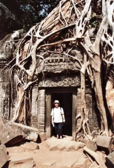 Beeindruckendes Tor - Tempel Ta Prohm