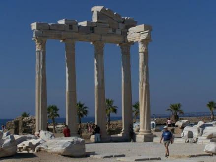Der Tempel von Side - Apollon Tempel