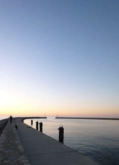 Plaża/Wybrzeże/Port - Promenada nadmorska w Darłówku